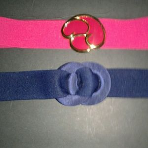 Vintage 2 pc 80's belts